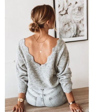 PULL TOULOUSE GRIS