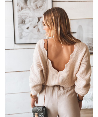 PULL TOULOUSE BEIGE